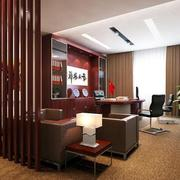 中式风格总裁办公室