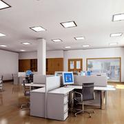 办公室简约照明设计
