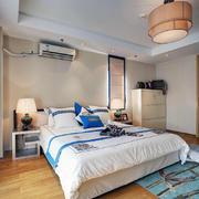 90平米房子暖色卧室设计
