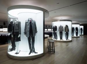 时尚欧式风格服装店装修效果图设计