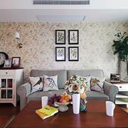 美式风格简约系列客厅茶几设计