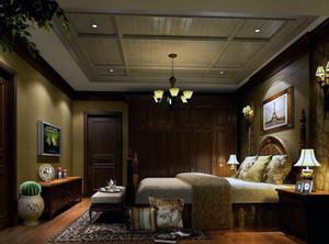 小户型精致欧式卧室壁纸装修效果图