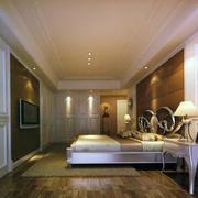 经典卧室背景墙造型图