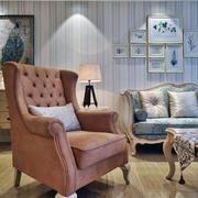 90平米房子暖色沙发设计