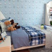 卧室帆船壁纸图片