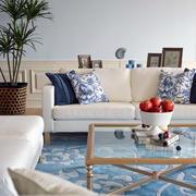欧式90平米房子装修沙发设计