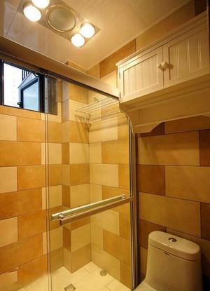 复式楼简欧风格干湿分离卫生间装修效果图
