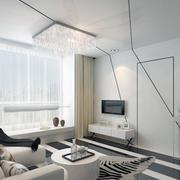 唯美都市客厅窗帘设计