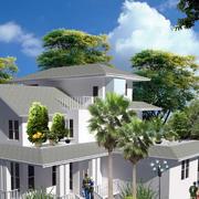 现代时尚的别墅设计