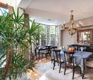 温馨舒适的别墅露台阳光房装修效果图
