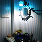 92平米家居简约蓝色卧室设计