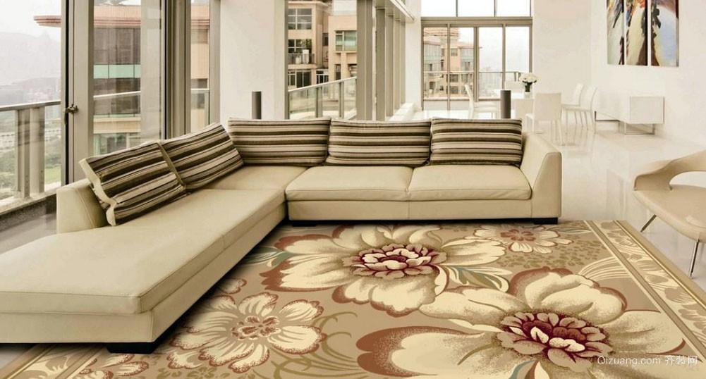2015简约潮流家用地毯效果图