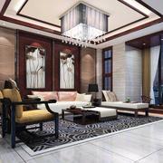 大户型家庭客厅地毯