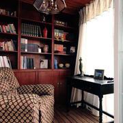 实木书柜装修效果图