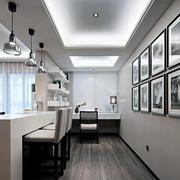 公寓现代简约黑白对比色