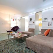 马赛克客厅地毯