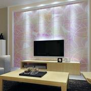 精美电视背景墙整体设计