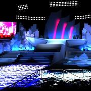 大型公演舞台装饰