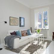 公寓冷色调地毯