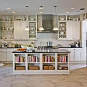 厨房吧台收纳柜设计
