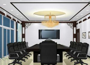 中式简约风格办公楼装饰
