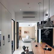 92平米家居吊灯简约设计