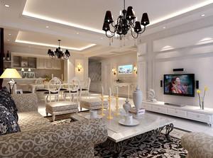 室内设计后现代风格客厅装饰