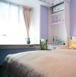 欧式小户型卧室飘窗装修效果图
