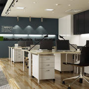 都市风格办公室设计