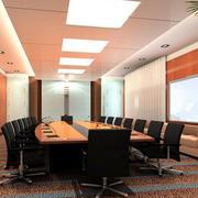 现代简约风格办公楼会议室装修