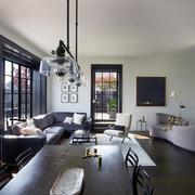 90平米户型客厅吊灯设计