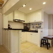 欧式简约风格厨房吊顶设计