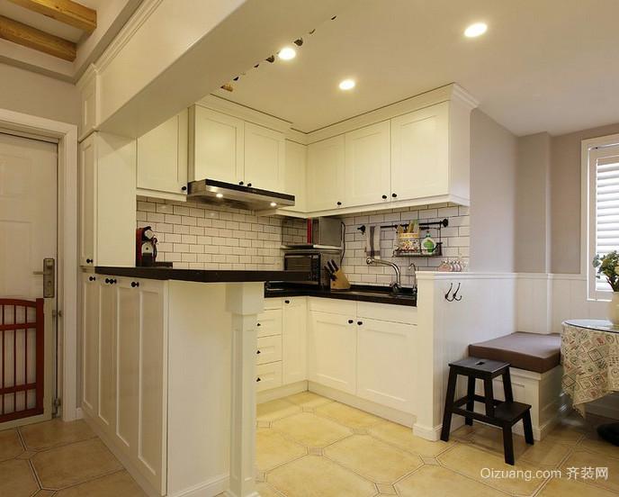 180平米别墅欧式开放式厨房装修效果图