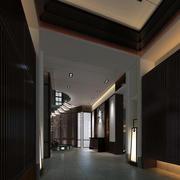 后现代风格简约走廊吊顶设计