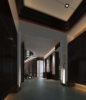 2015全新简约风格酒店走廊吊顶装修效果图
