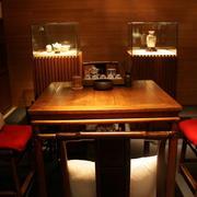 茶馆桌椅设计图片