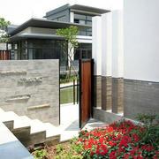 简约风格美式庭院效果图