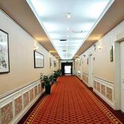 酒店欧式简约走廊吊顶