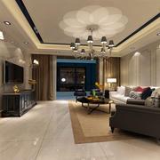 室内设计简约欧式客厅装修