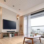 92平米家居简约化客厅设计