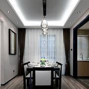 85平米简约欧式客厅现代设计
