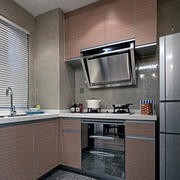 90平米简约欧式厨房设计