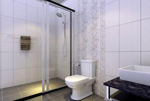 厕所玻璃隔断设计大全
