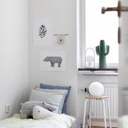 90平米家居白色小卧室设计