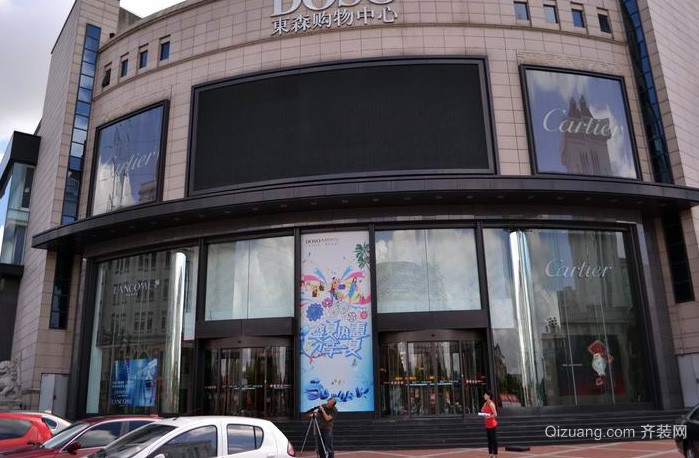国际大型商场设计装修效果图