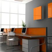 简约办公室大型窗户设计