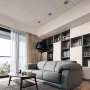 90平米典雅高贵型沙发设计
