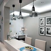 90平米公寓现代式简洁优雅型