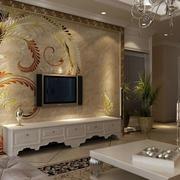 艺术精致的电视背景墙