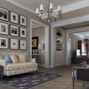 客厅精美照片墙大全